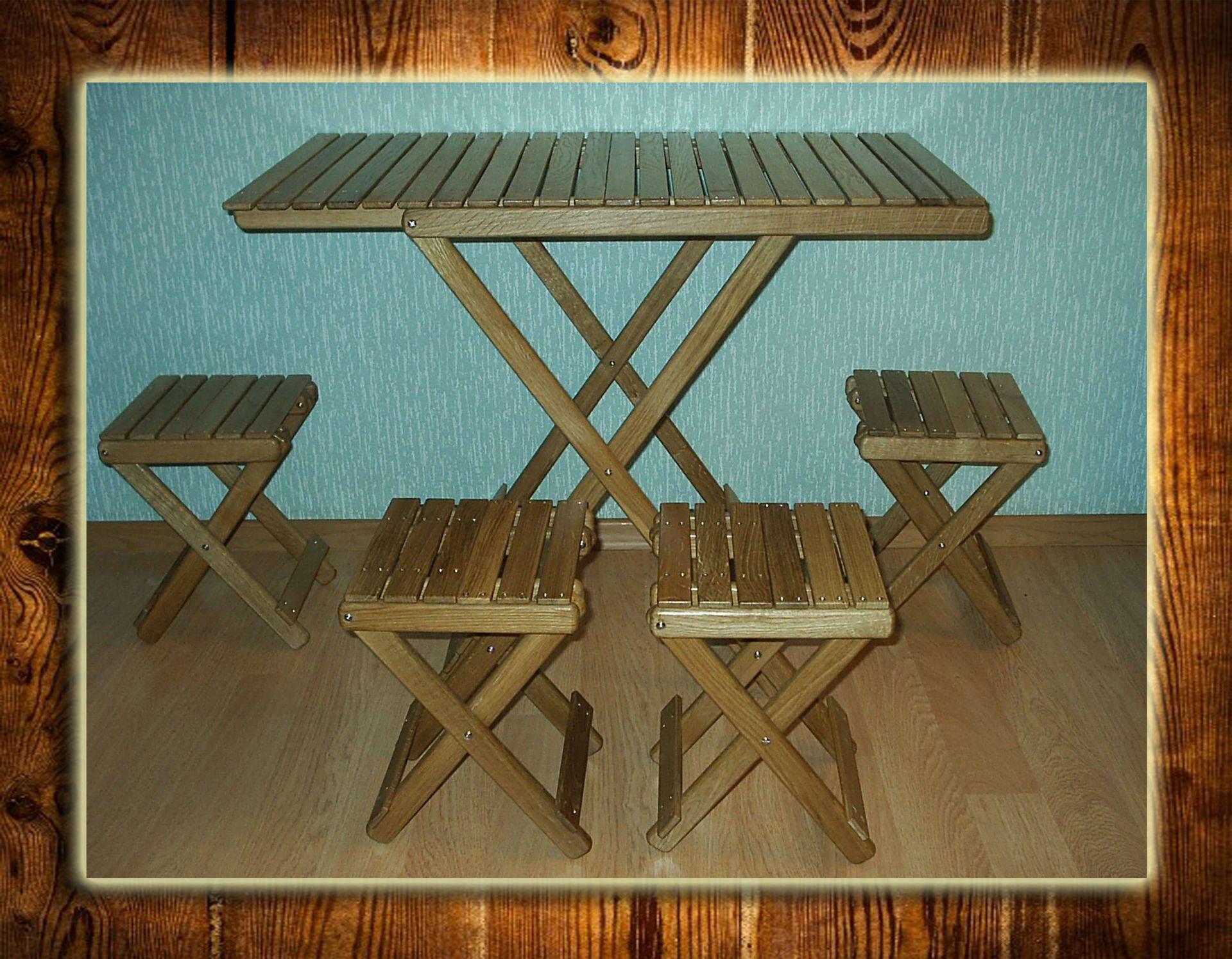 Своими руками стол для природы
