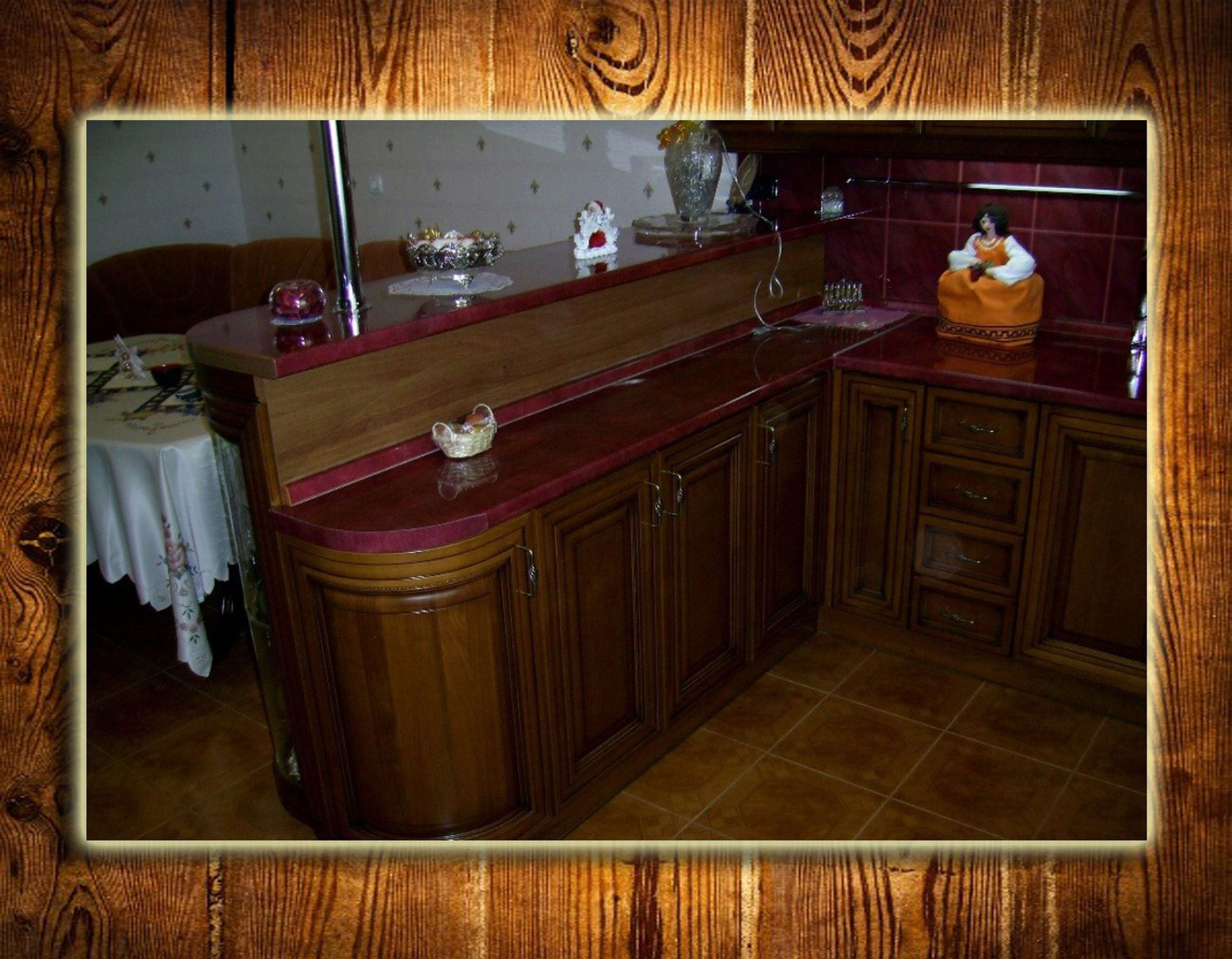 Барная стойка для кухни своими руками, 2 способа 38
