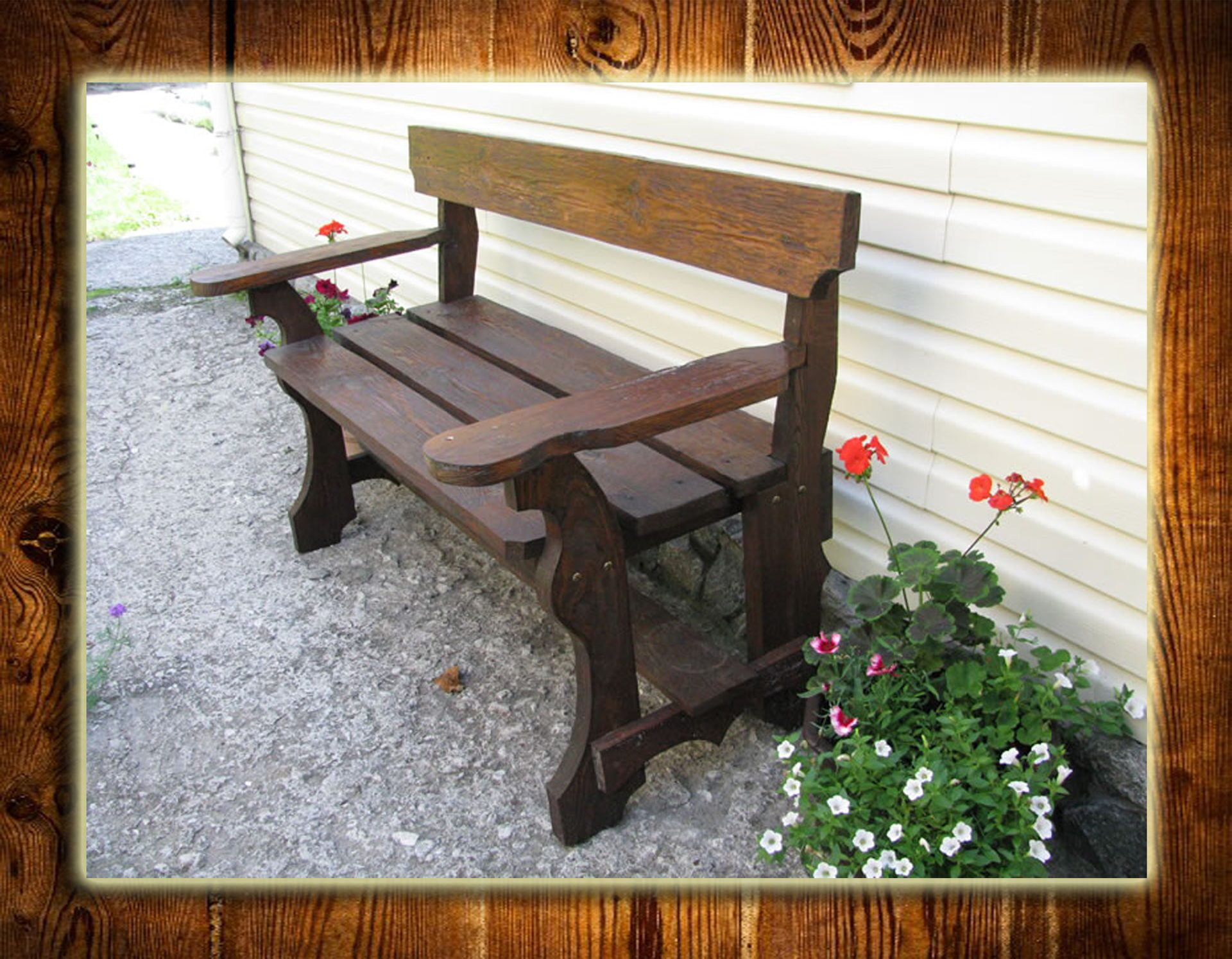 Скамейка деревянная своими руками фото